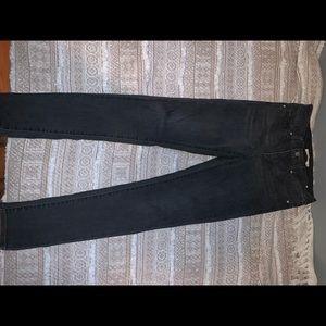Faded black jean NWT